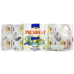 President cream portion 10%, 10 pieces of 10 g