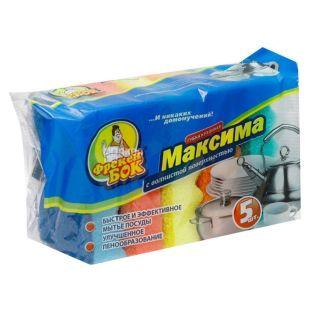 Freken Bok, 5 pcs., Kitchen sponge, Maxima, m / y