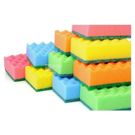 Little things in life, 10 pcs., Kitchen sponges, m / s