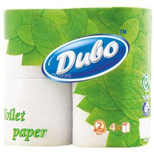 Диво New, 4 рул., Туалетний папір, Нью, 2-х шаровий