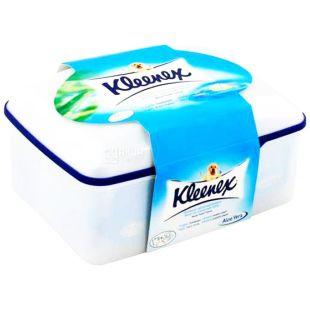 Kleenex, 42 листи, вологий туалетний папір, туба