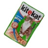 Kitekat, 100 g, food, for cats, with salmon in sauce