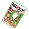 Kitekat, 100 g, food, for cats, with veal in sauce