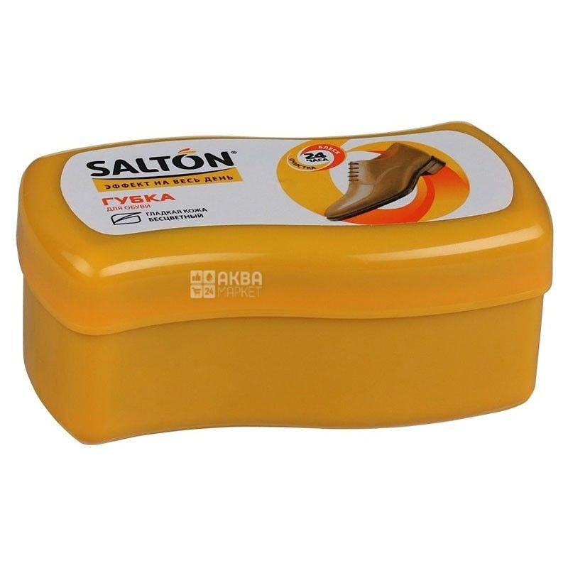Salton, губка для обуви, Для гладкой кожи, Волна, ПЭТ