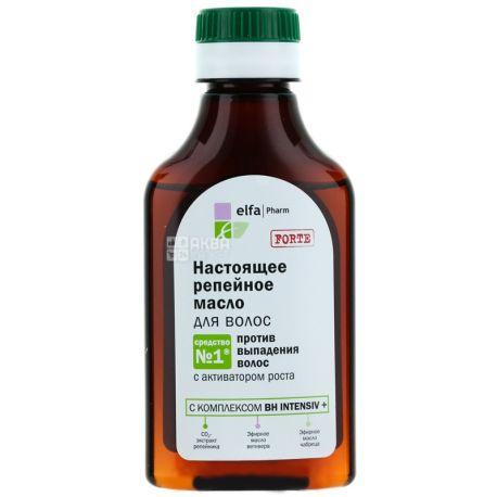 Elfa Pharm, 100 ml, oil for hair, Real burdock