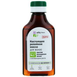Elfa Pharm, 100 мл, олія для волосся, Справжня реп'яховя