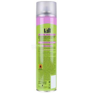 Taft, 400 мл, лак для волос, сильная фиксация, Volume 4