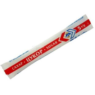 АТА, 100 шт., сахар, белый в индивидуальной упаковке