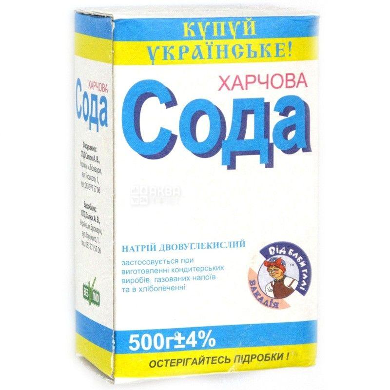 Salukov, Baking soda, 500 g