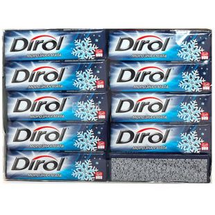 Dirol, 14 г, жувальна гумка,  Fresh, Морозна м'ята