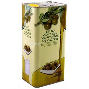 Olio di Oliva, 5л, Масло оливковое, ж/б