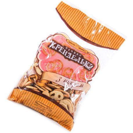 Киевхлеб,300 г, печенье, Крендельки с сахаром