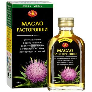 Golden Kings of Ukraine, 0.1 L, oil, milk Thistle unrefined