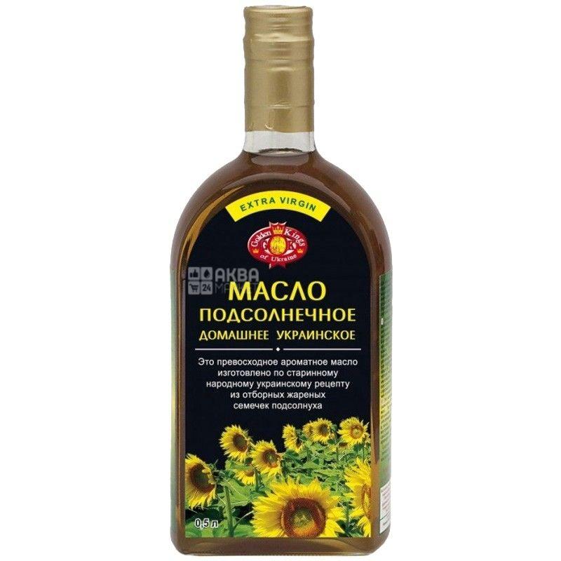 Golden Kings of Ukraine, 0,5 л, масло подсолнечное, Домашнее украинское