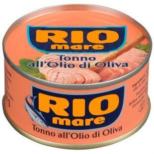 Rio Mare, 80 г, тунец в оливковом масле, ж/б