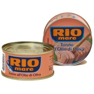 Rio Mare, Тунець в оливковій олії, 80 г