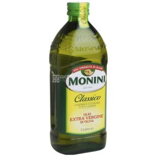 Monini, 1 л, Масло оливковое, Сlassico, Еxtra vergine, стекло