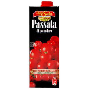 Delizie dal Sole, 1 л, паста томатная, di Pomodoro
