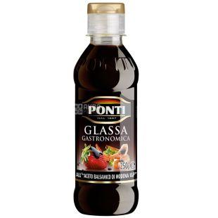 Ponti, 250 г, соус бальзамический, Glassa Gastronomica