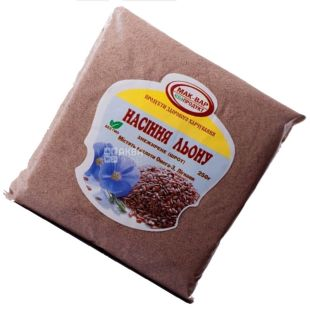 Мак-Вар, 0,25 кг, шрот, из семян льна