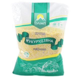 Олимп, Крупа кукурузная, шлифованная, 750г