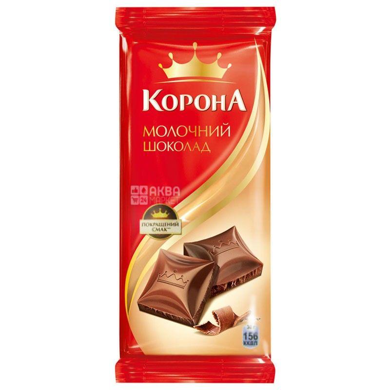 Корона, 90 г, молочный шоколад