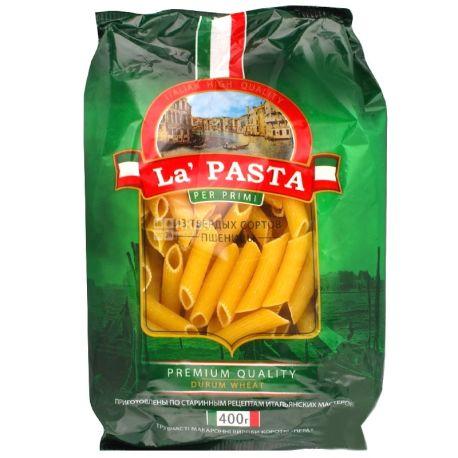 La Pasta, 400 г, Макарони Ла Паста, Пір'я