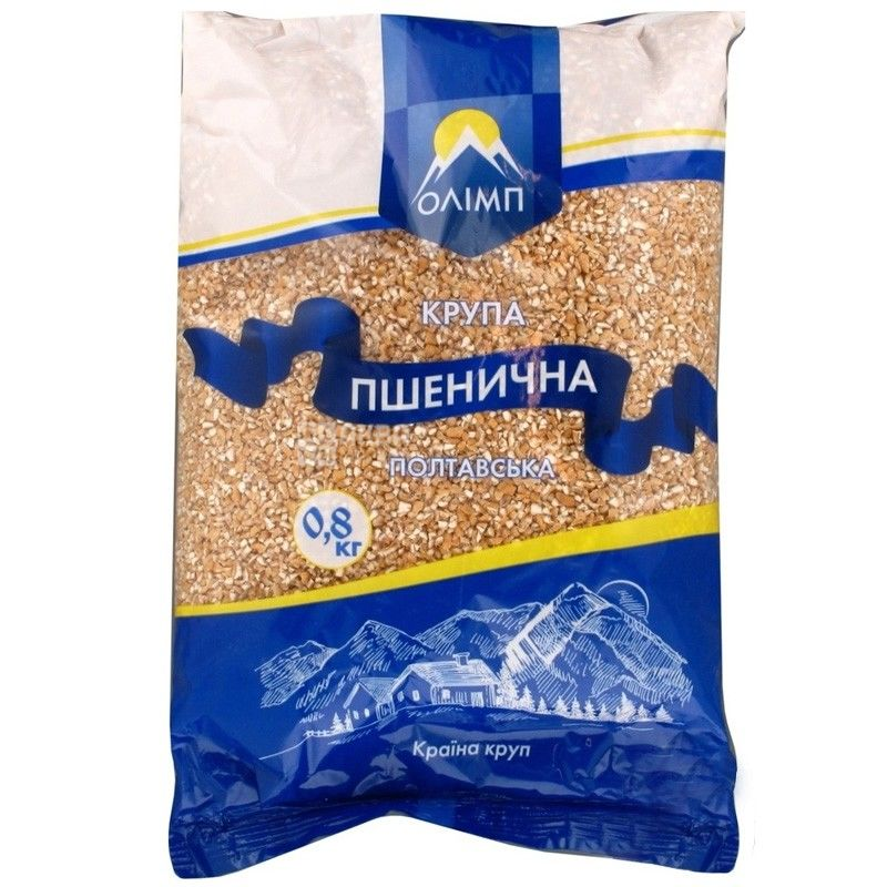Олимп, 0,8 кг, крупа, пшеничная