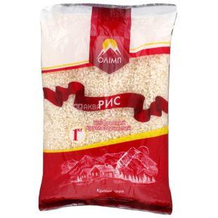 Олимп, 1 кг, рис, круглозернистый