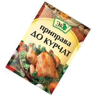 Eco, 20 g, seasoning for chicken