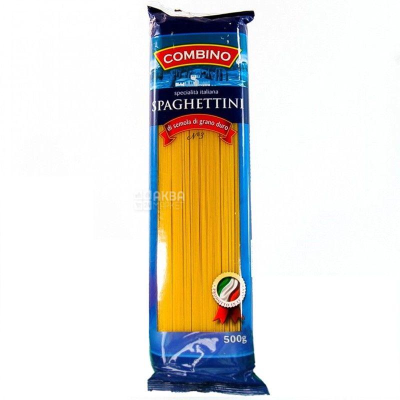 Combino Spaghettini, 500 г, Макарони Комбіно Спагеттіні