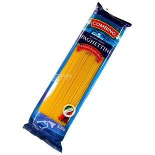 Combino Spaghettini 500г, макароны спагетти