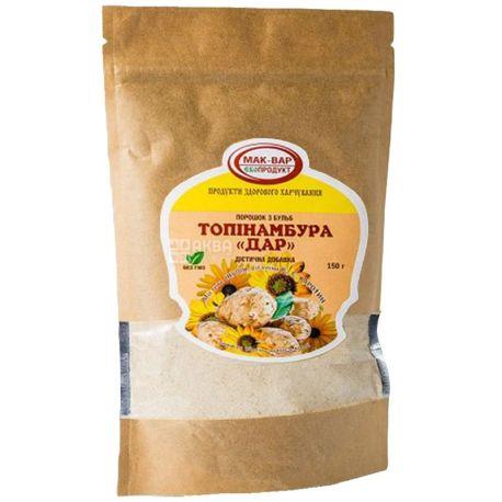 MacVar Ecoproduct, 150 g, Jerusalem artichoke powder, dietary supplement, Gift