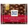 Ritter Sport, 100 г, чорний шоколад, з цільними лісовими горіхами