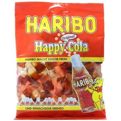 HARIBO, 100 г, жевательные конфеты, Веселая Кола