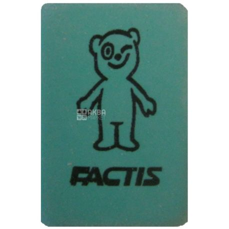 FACTIS, гумка для стирання, 60 RP, м/у