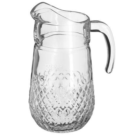 Pasabahce, 1,35 л, кувшин, Valse, стекло