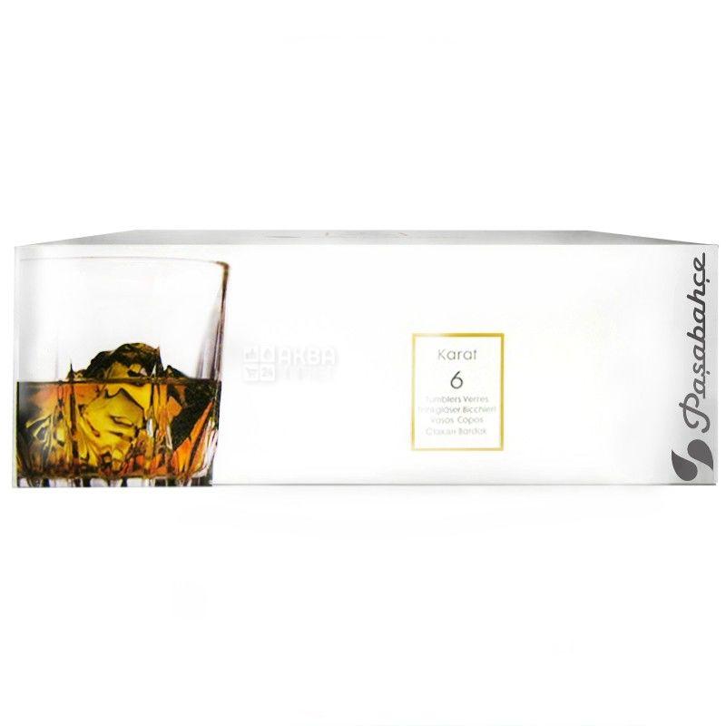 Pasabache, 6 шт., 230 мл, набор стаканов, Tango, стекло