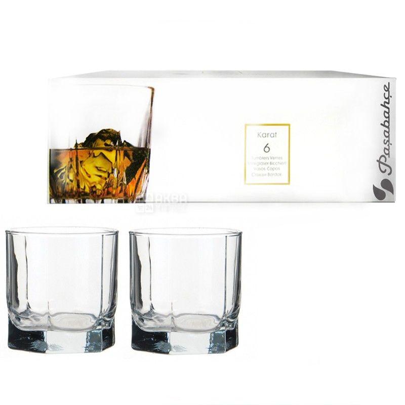 Pasabache, 6 шт., 230 мл, набір склянок, Tango, скло
