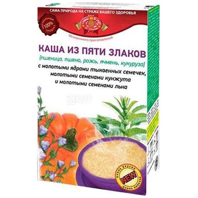 Golden Kings of Ukraine, 320 г, Каша Голден Кінгс, з 5-ти видів злаків, насіння гарбуза, кунжуту, льону