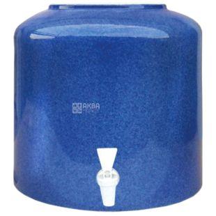 Диспенсер керамический для воды Мраморный Синий