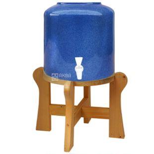Dispenser ceramic for water Marble Blue