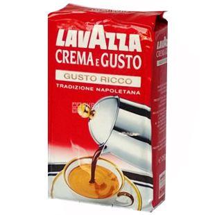 Lavazza Crema Gusto Ricco, Кава мелена, 250 г