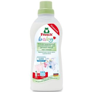 Frosch, 0.75 L, concentrated rinse, for baby clothes