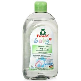 Frosch, 500 мл, бальзам для мытья детской посуды