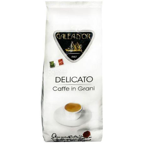 Galeador Delicato, 1 кг, Кофе Галеадор Деликато, средней обжарки, в зернах