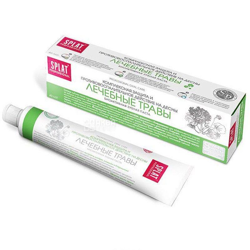 Splat Proffesional, 100 мл, Зубная паста, Лечебные травы