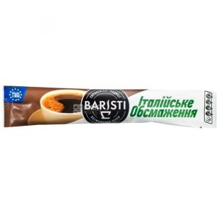Baristi Italian Roast, Instant coffee in stacks, 25 pcs.