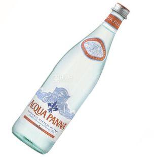 Acqua Panna, 0,75 л, Негазована вода, Мінеральна, скло