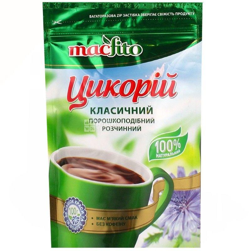Macfito, Цикорий Классический, 100 г, Макфито, напиток растворимый, без кофеина